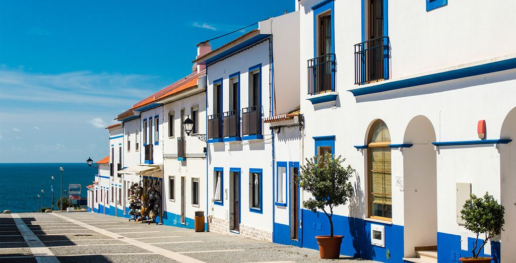 Or the beautiful houses of Porto Covo