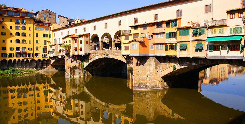 And the famous Ponte Vecchio