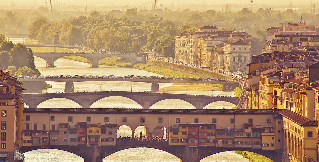 Explore this beautiful riverside city