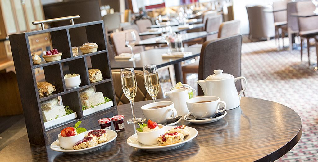 Why not opt for an Afternoon Tea in the lounge bar - you have 25% off