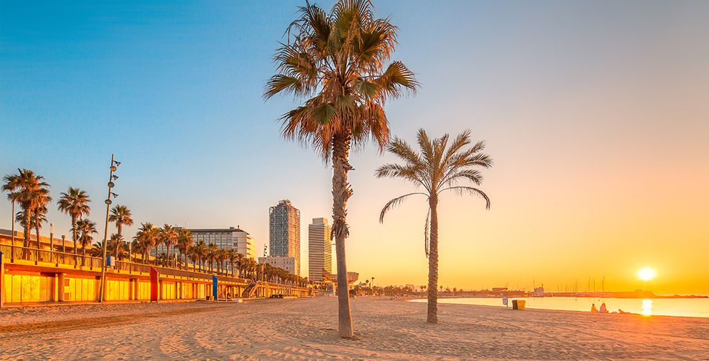 Or Start from the vibrant hub of Barcelona