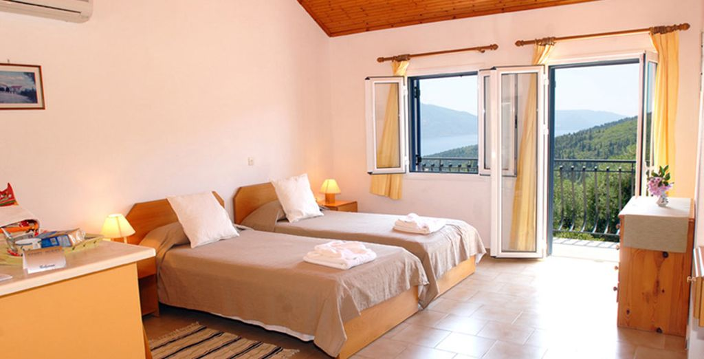 Your Sea view apartment awaits