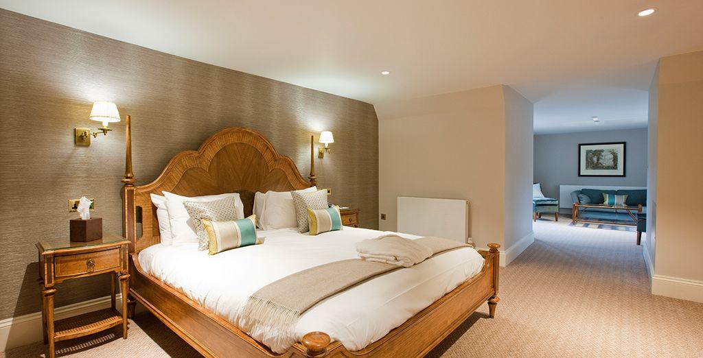 Each suite is unique in design