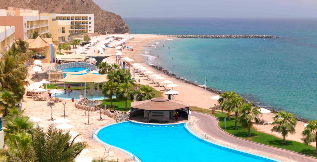 Discover Fujairah with this indulgent beach getaway