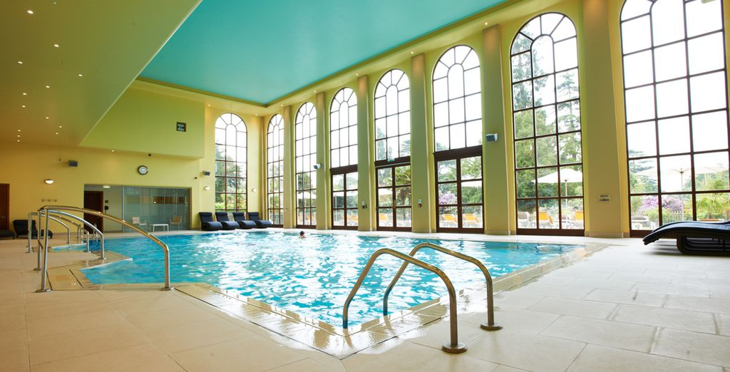 As well as others, including the indoor pool - perfect for that much-needed 'me time'