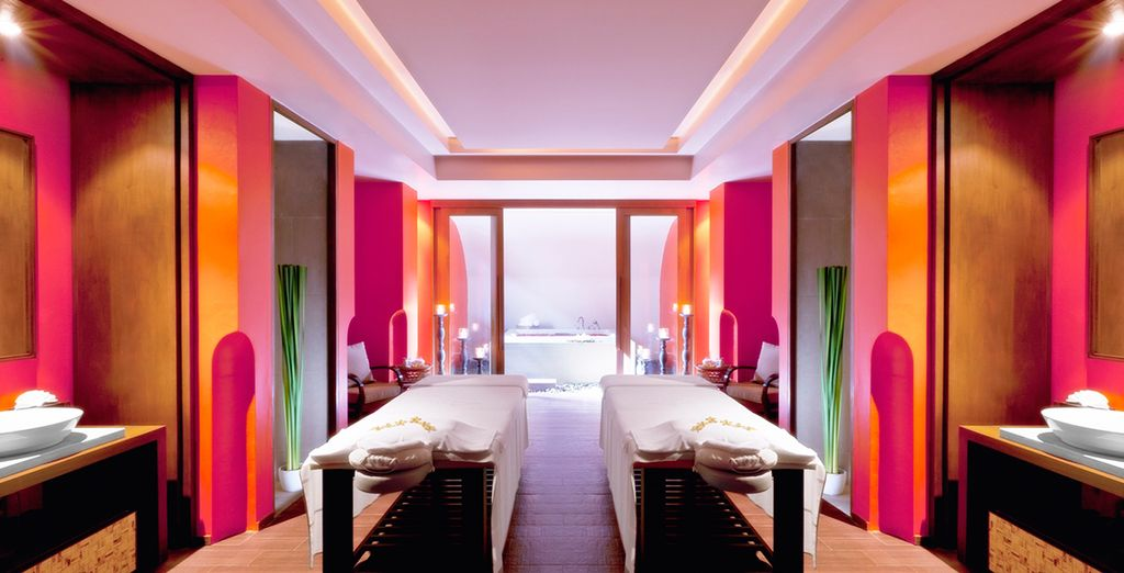 Or retreat to the supremely relaxing spa