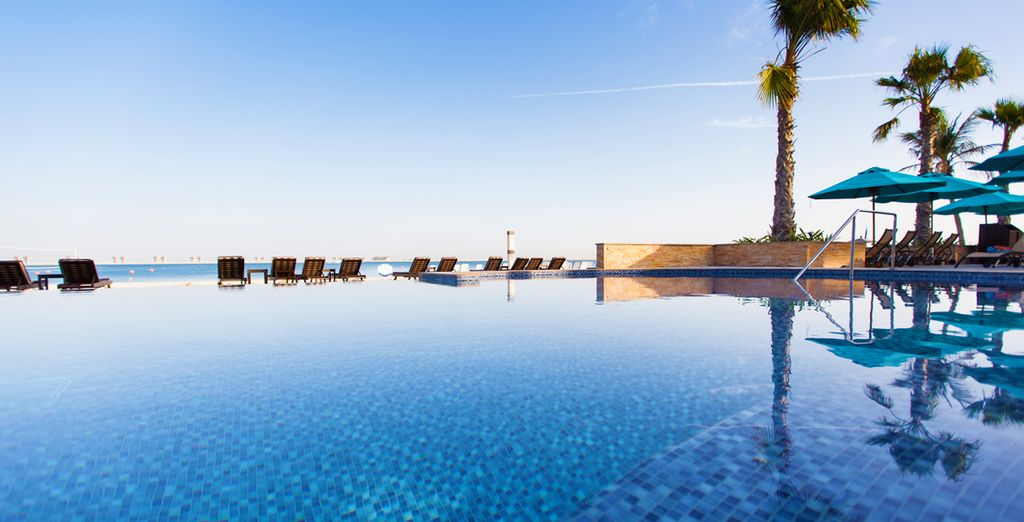 Boasting a palm-lined beach