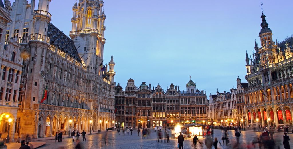 Brussels is a joy to visit in any season