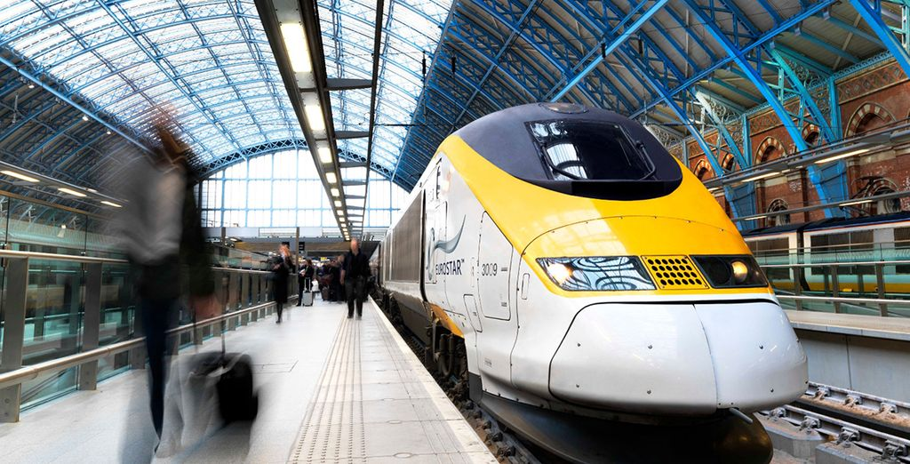Choose Eurostar travel to arrive with ease