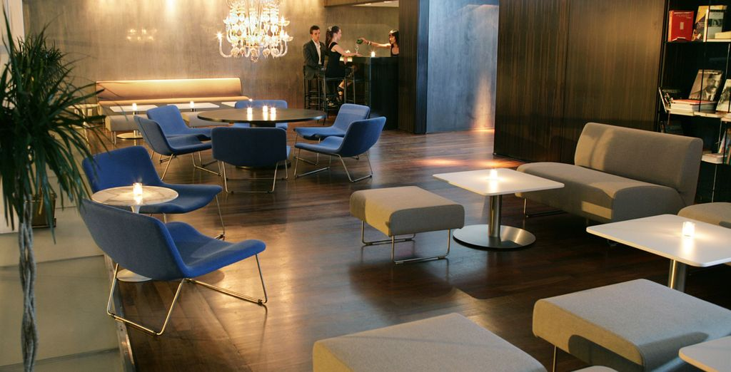 Arrive at your impeccably designed hotel