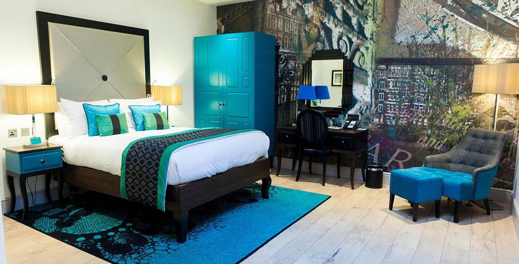 A stylish room in the centre of the city - Hotel Indigo London Kensington 4* London