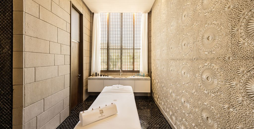 Reach your state of tranquility with a spa treatment