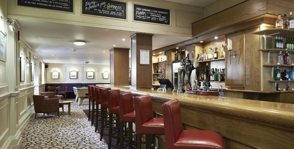 Have a drink in the pub