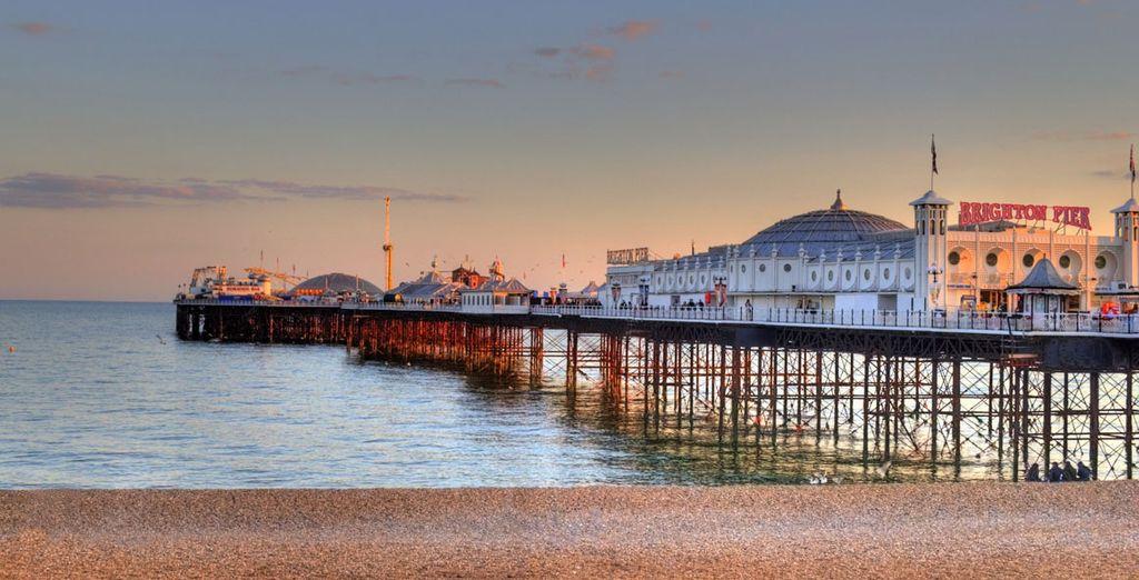 Famous Brighton Pier
