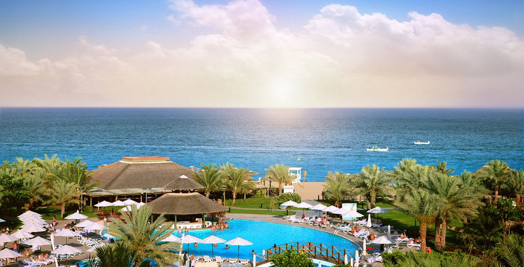 Experience it all from this 5-star resort