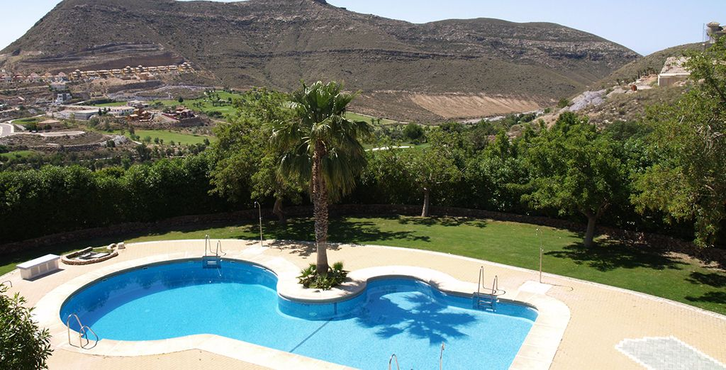 Nestled between rolling Andalusian mountains...