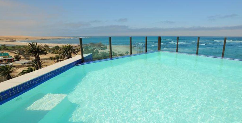 To coastal hotels (Swakopmund Beach Hotel)