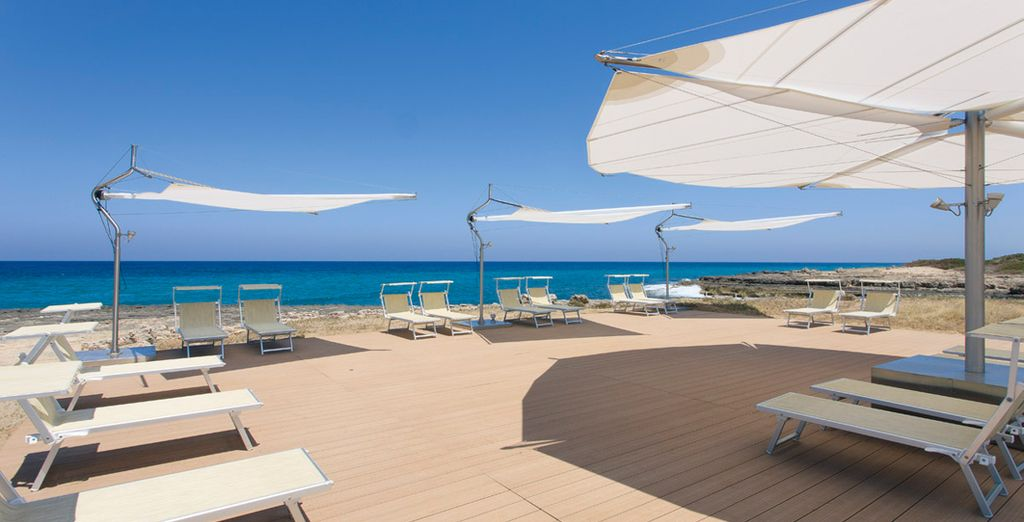 You are only a short walk from the Adriatic shores