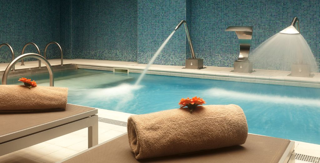 Or treat yourself with a relaxing spa treatment
