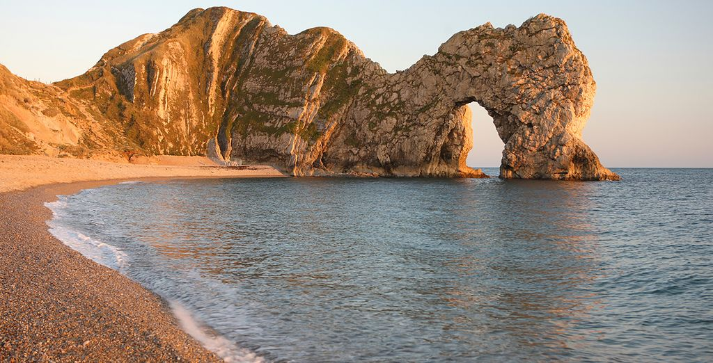 Like the natural wonder of Durdle Door