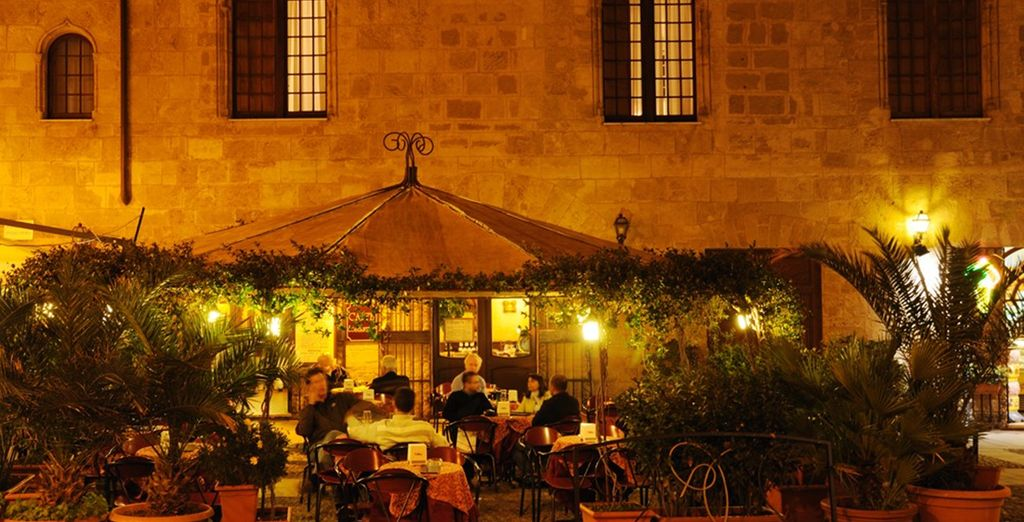 And try the excellent restaurants - for which Alghero is famed
