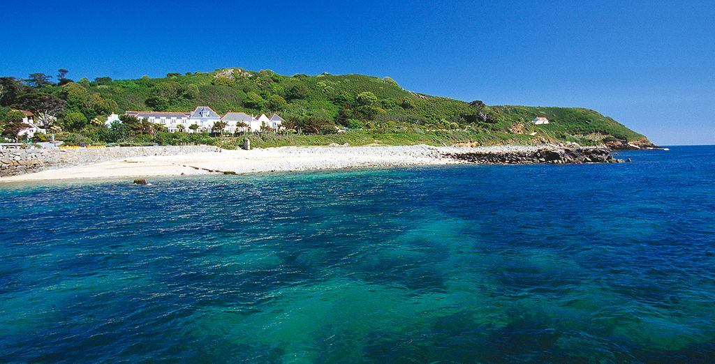 A Britain in Bloom Gold Award-winning island
