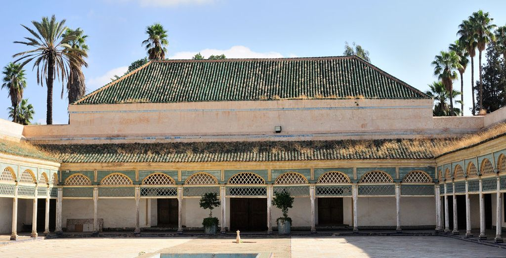 Or admire the splendour of the Palais Bahia, further south