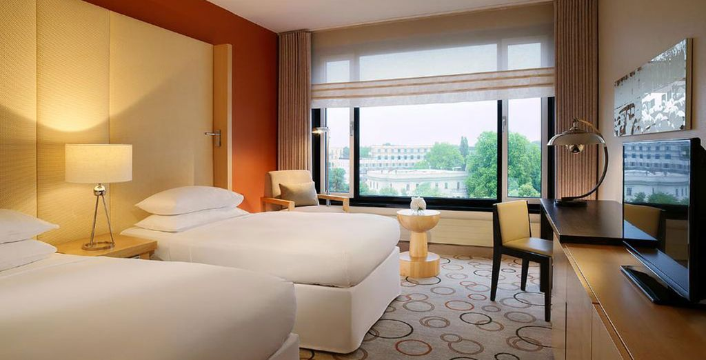 Choose between staying in a Deluxe Room