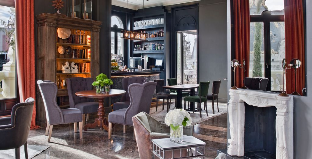 Where chic design and stylish ambience come together in the heart of the city