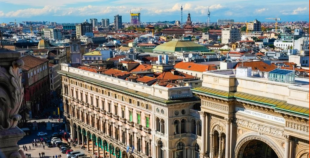 In the heart of the city of Milan - NH Milano Machiavelli 4* Milan