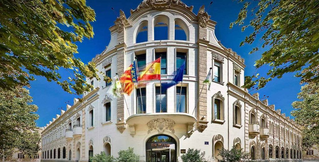 Welcome to the iconic 5* Westin Hotel - The Westin Valencia 5* Valencia