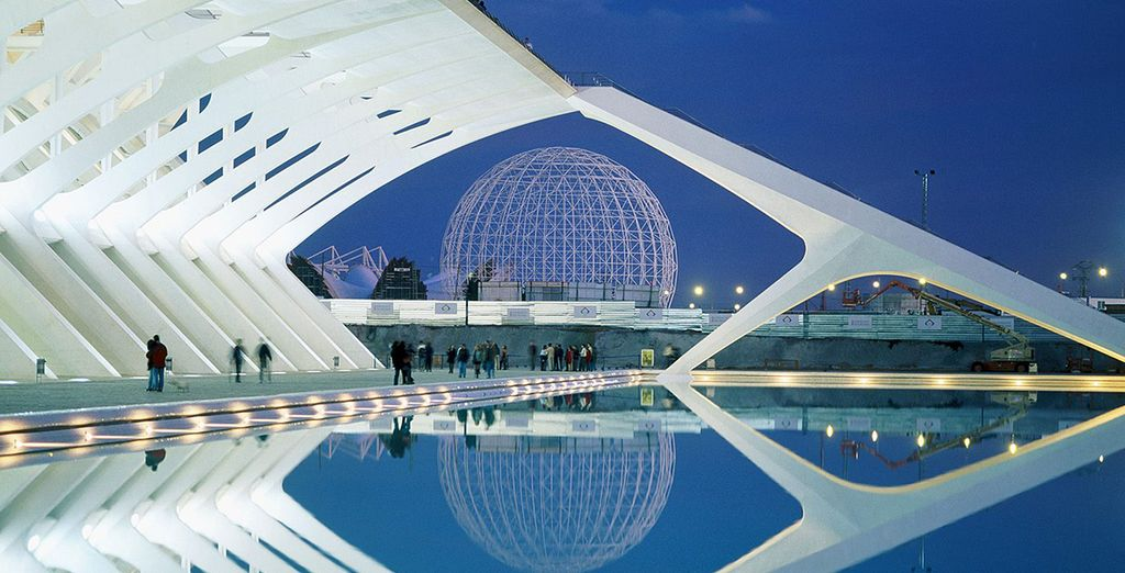 The City of Arts and Sciences!