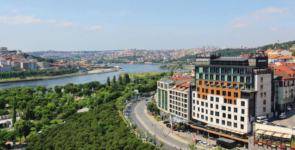 Discover the hotel Mövenpick Golden Horn