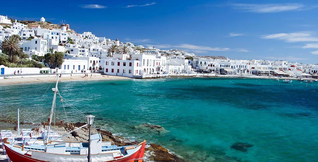 In sunny Greece