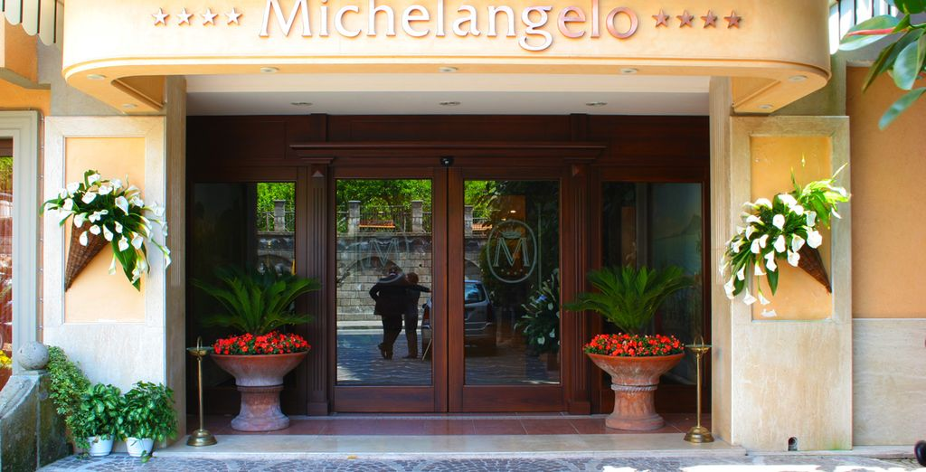 At the 4* Hotel Michelangelo