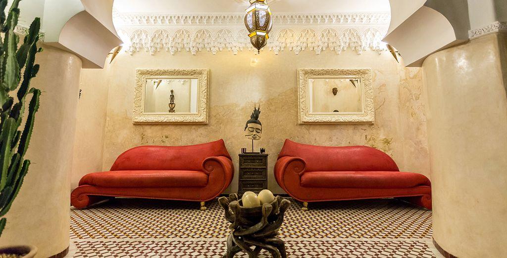A hotel with traditional Moroccan craftsmanship - Riad Asrari Marrakech