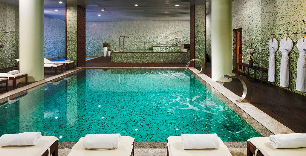 Spend a day relaxing in the spa - H10 Marina Barcelona 4* Barcelona