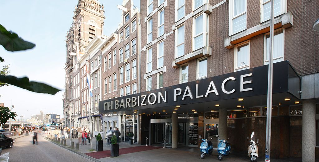 At the newly refurbished NH Collection Barbizon Palace - NH Collection Barbizon Palace 5* Amsterdam