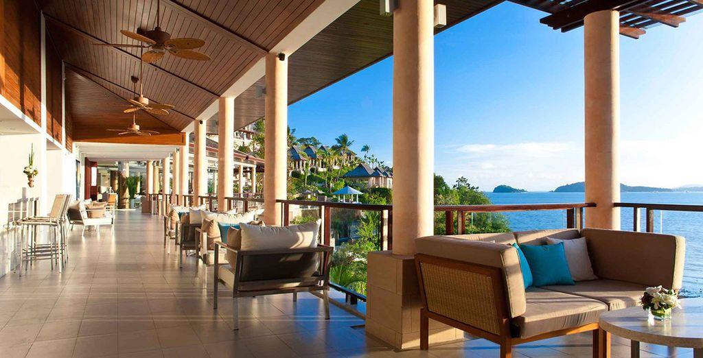 A stunning seaside hotel