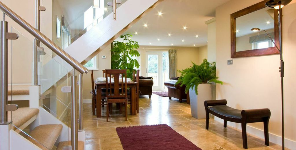 Offering contemporary living spaces