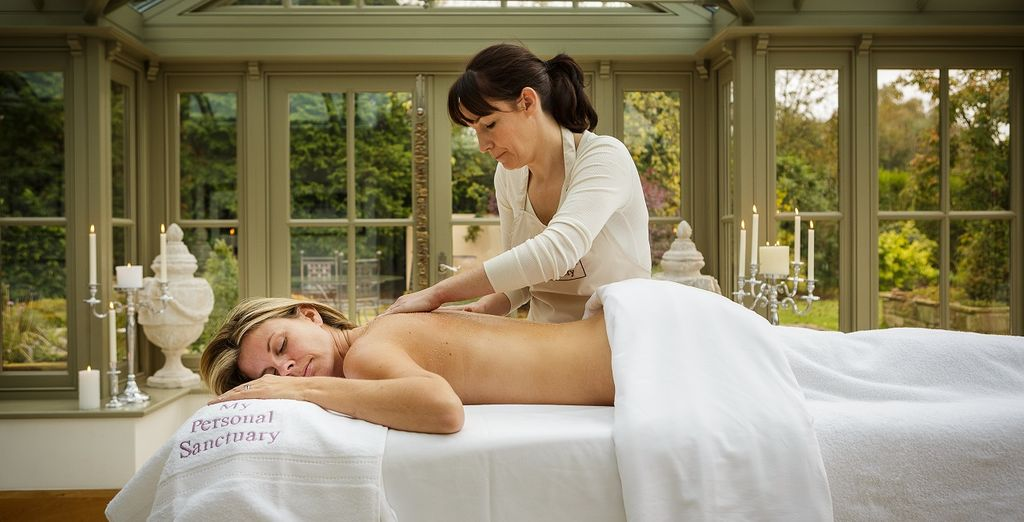 Indulge in a massage service from the comfort of your own spa
