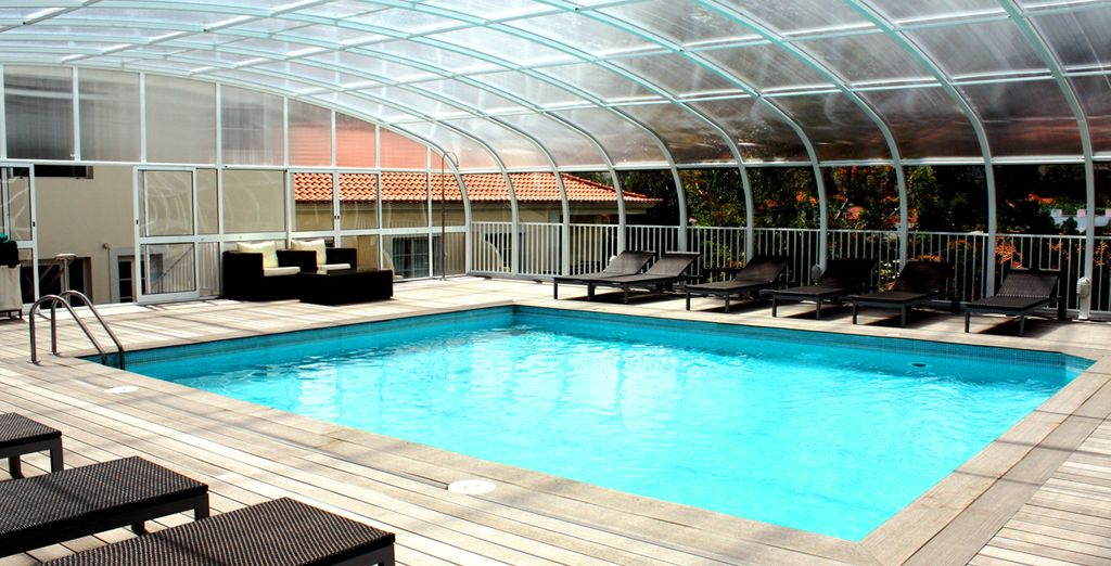 Retreat to the wellness centre for that extra bit of indulgence