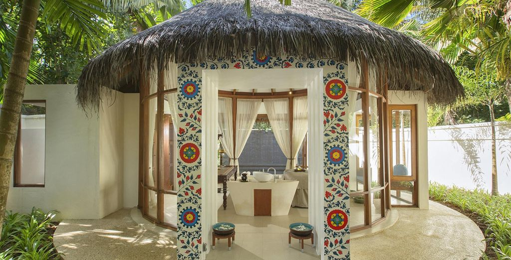 In these charming relaxation suites