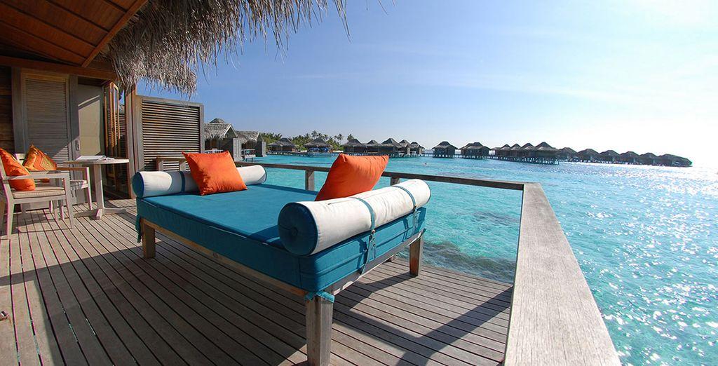 Soak up the sun on your stylish terrace
