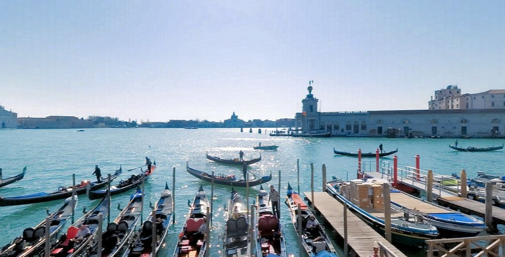 And soak up the romance of this city - Hotel Monaco & Grand Canal 4* Venice