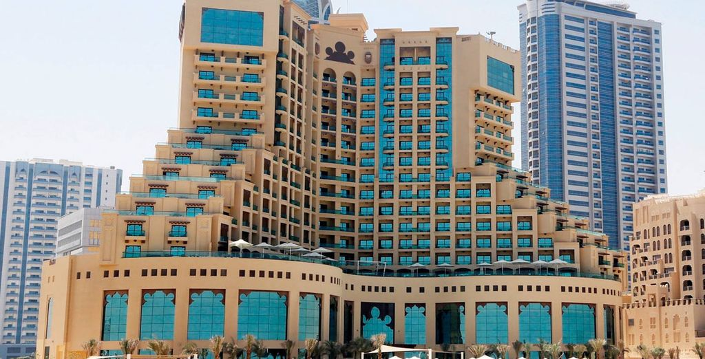 Welcome to the Fairmont Ajman