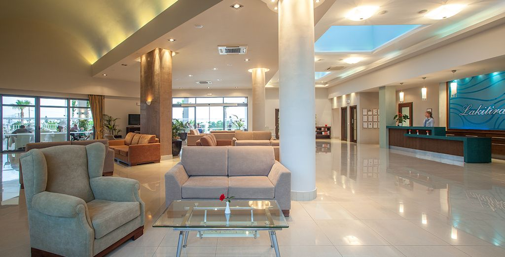 A stylish and comfortable hotel