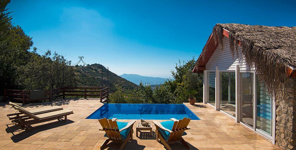 So soak up the sun in your stunning Kalkan villa