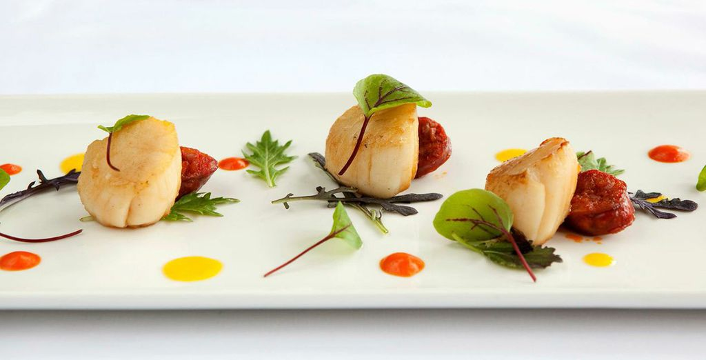And sample some exquisitely designed food