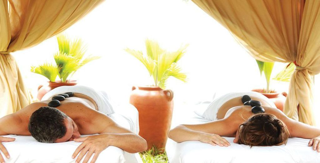 Relax with a massage at the Wellness Centre